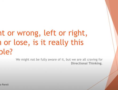 Professional Identity | Carlo | Directional Thinking